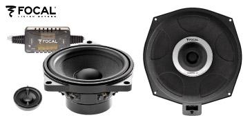FOCAL Lautsprecher und Bass für BMW und Mini