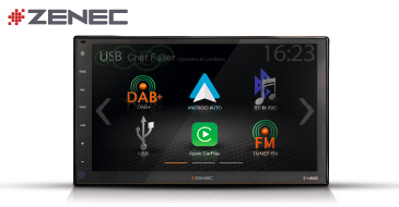 ZENEC Z-N966: 2-Din Autoradio mit CarPlay und Android Auto