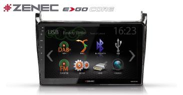 ZENEC E>GO Core Z-F2002 für VW Polo 6C