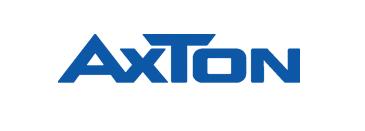 Logo Axton: Marke für Lautsprecher, Basskisten, Endstufen