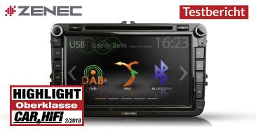 ZENEC Z-E2050: Testbericht