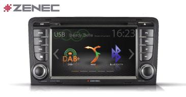 Z-E3150: Multimedia-Navigation für AUDI A3